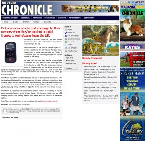 Canine Chronicle Product Review 2013