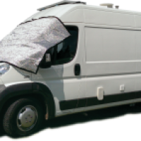 Camper with Silver Shade Mesh
